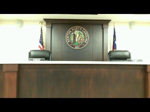 Newton City Council Meeting - April 21, 2020