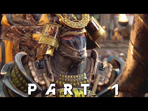 FOR HONOR Samurai Campaign Walkthrough Gameplay Part 1 - Poison