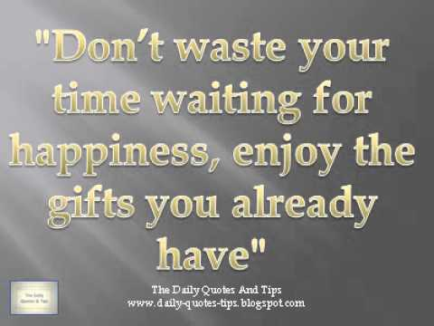 Daily Quotes Magnificent The Daily Quotes And Tips 48 YouTube