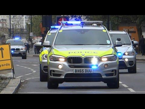 *RARE* (x4) Metropolitan Police Armed Response Vehicle Convoy