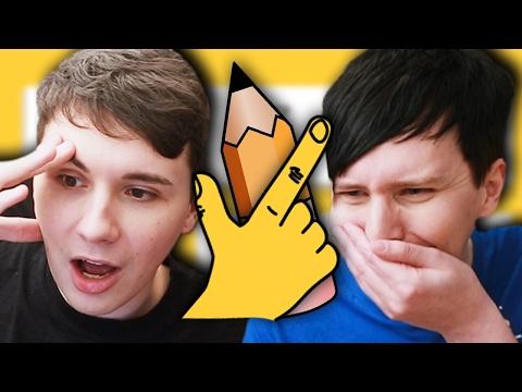 Dan vs. Phil: QUICK DRAW!