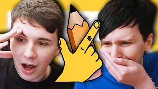 Dan vs. Phil: QUICK DRAW!