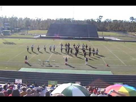 Port Arthur Memorial High School Band 2008 - UIL Region 10 Marching Contest