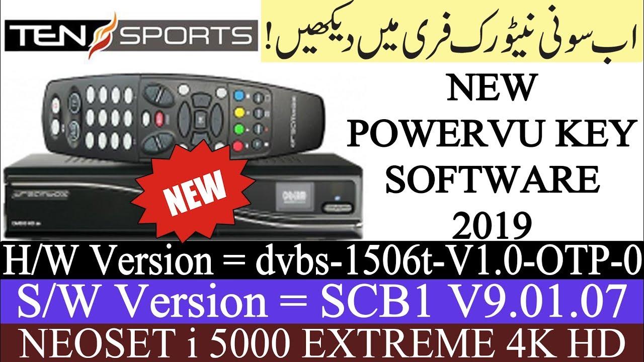 NEOSAT i 5000 EXTREME & 1506T SCB1 HD RECEIVER AUTO ROLL POWERVU KEY NEW  SOFTWARE || Usama Tech