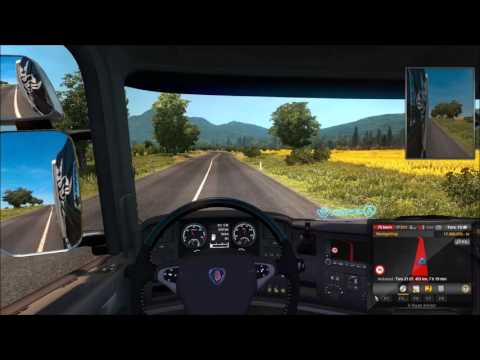 Euro Truck Simulator 2 + ProMods 2.03 Wroclaw-Chisinau Part 1