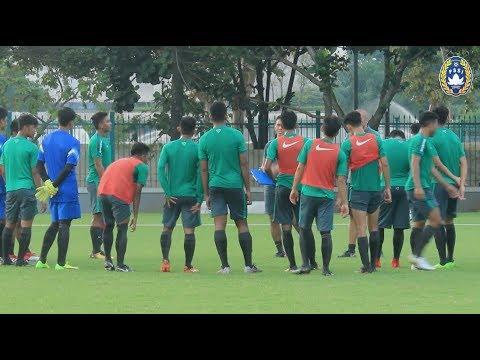 Bima Sakti Latihan Perdana Bersama Timnas Indonesia U-19