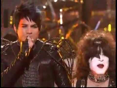 Adam Lambert & Kiss - American Idol - Final - Finale