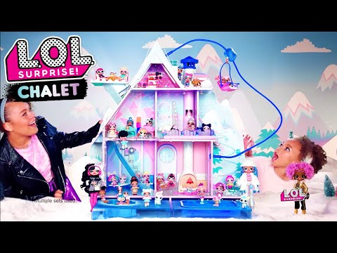 LOL Surprise! Winter Disco Chalet Commercial