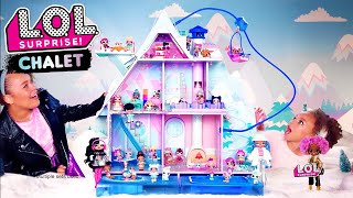 LOL Surprise! Winter Disco Chalet Commercial