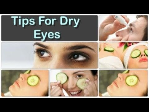 How To Cure Dry Eyes Permanently Top 10 Remedies For Dry Eyes