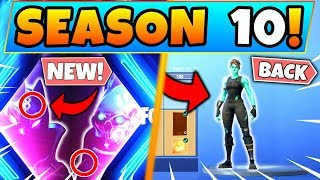 3ème TEASER PROVES OLD SKINS RETURNING IN SEASON 10! (Fortnite Saison 9 Mise à jour!)