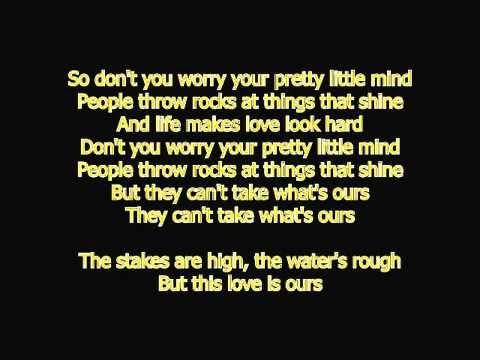 Taylor Swift - Ours Official Instrumental Karaoke + Lyrics