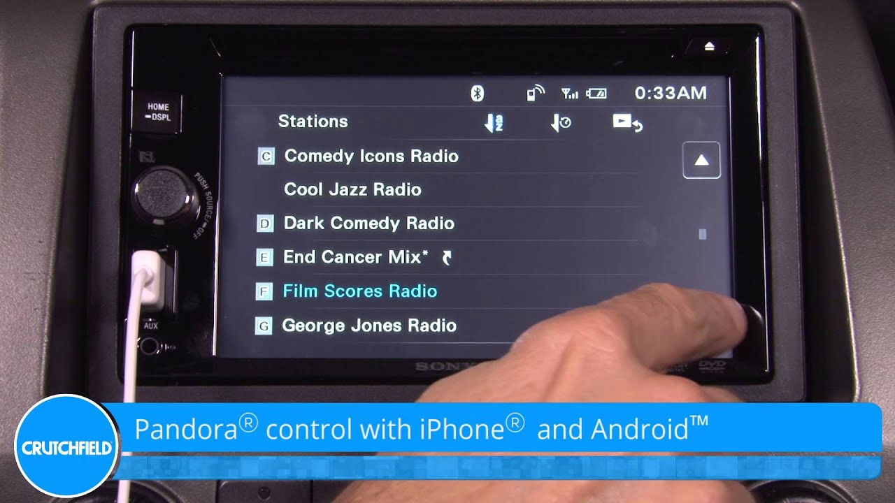 Add bluetooth to your ride the xav-602bt's touchscreen sports a clean, uncluttered interface. Sony also adds bluetooth to the mix, for a wireless link between.