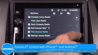 Sony XAV-68BT Display and Controls Demo | Crutchfield Video