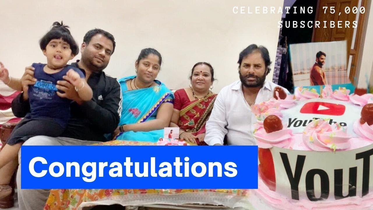 Celebrating Farming Engineer's 75K subscribers || Special homemade cake Recipe || Tasty Khana