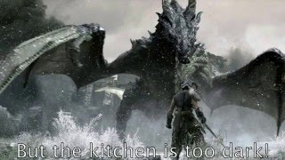 The Elder Scrolls V -Dragonborn Misheard lyrics
