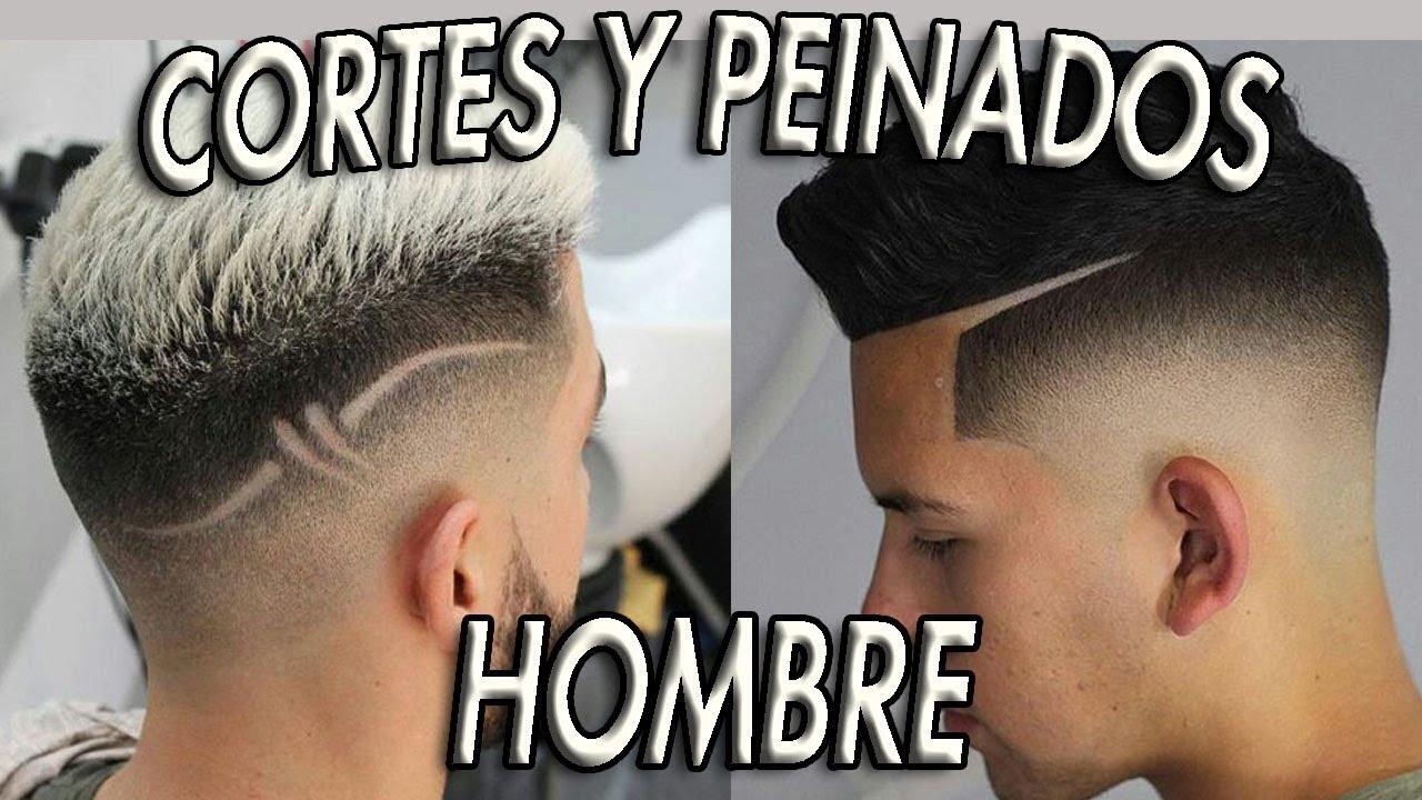 Los Mejores Cortes Y Peinados Para Hombre 2018 Youtube