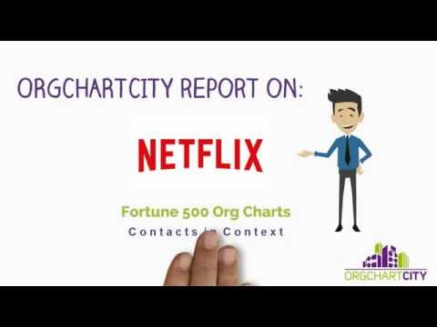 Netflix Org Charts video by OrgChartCity