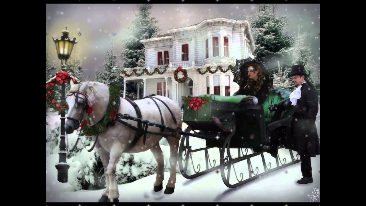 Beautiful Snow Falling Wallpapers Thomas Anders Sleigh Ride Hd Hq Youtube