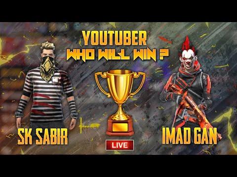 Sk Sabir Vs Imad Gan || Top Global Player Vs Headshot King ||  One Shot Challenge ?