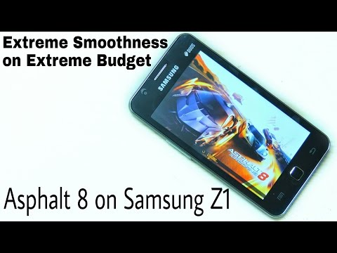 Asphalt 8 Gameplay on Samsung Z1