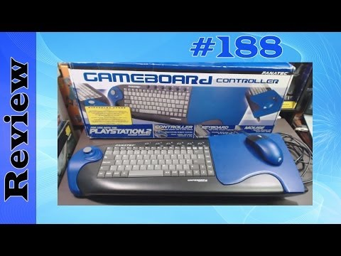 Fanatec Gameboard Controller (PS2) Mouse, Keyboard & Joystick All In One Unit - Review