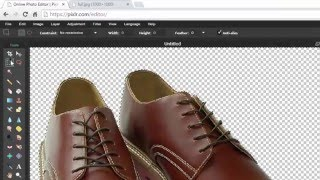 tutorial How to Make an Image Background Transparent Using the Free Online Editor Pixlr