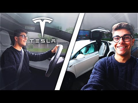 HO GUIDATO LA TESLA MODEL X + TEST 0-100