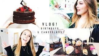 VLOG: Birthday in Brighton & Amazing Candy Floss Dessert! | I Covet Thee | AD
