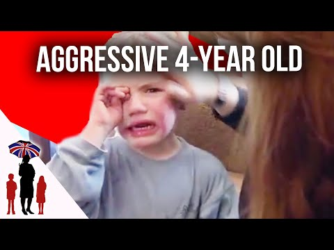 Parents Struggle With Aggressive 4 Year Old | Supernanny