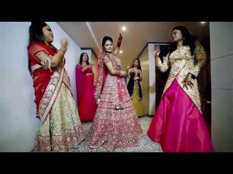 Bride Dance | LipDub | Tu cheez badi hai mast | Litika & Mudit