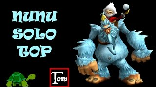 League Of Legends GAMEPLAY LOL ITA #15 NUNU SOLO TOP