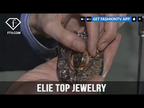 Paris Fashion Week Fall/Winter 2017-18 - Elie Top Jewelry | FashionTV