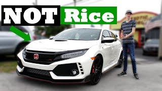 Why The Honda Civic Type R Is Not Rice