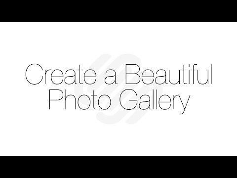 Squarespace 7 Tutorial: Create a Beautiful Photo Gallery