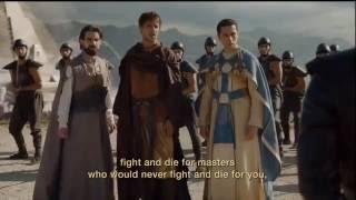 Daenerys y sus dragones defienden meereen- 6x9