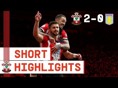 90-SECOND HIGHLIGHTS: Southampton 2-0 Aston Villa | Premier League