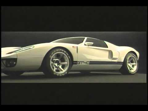 Ford GT40 Concept 2002 - YouTube