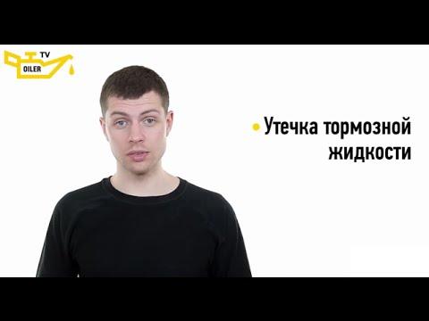 Утечка тормозной жидкости (тормозная жидкость течет)