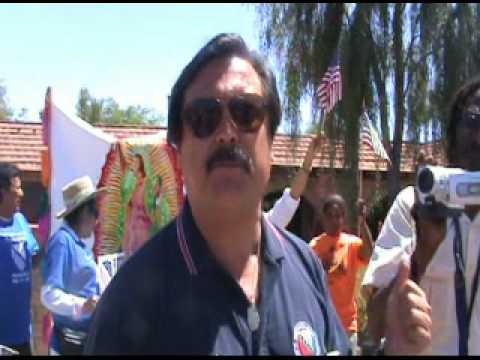 A Few Words From Domingo Garcia in Front of Jan Brewer House
