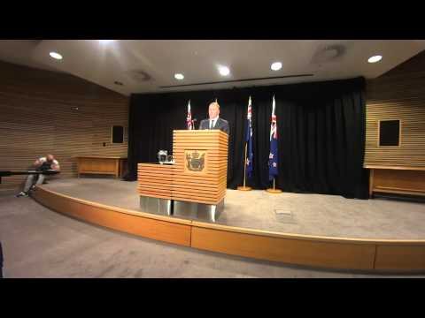 NZ PM John Key's Post Cabinet Press Conference - 23 February 2014
