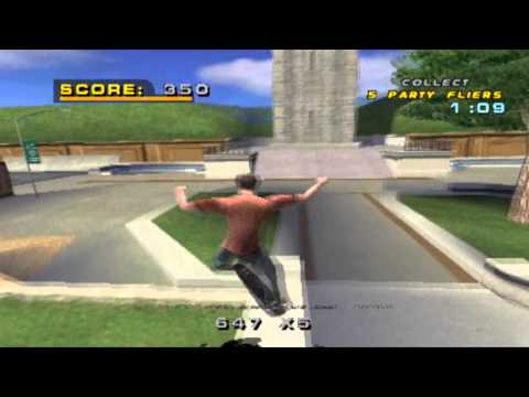 Let's Play Tony Hawk's Pro Skater 4 (PS1) Part 1 - Can we not?