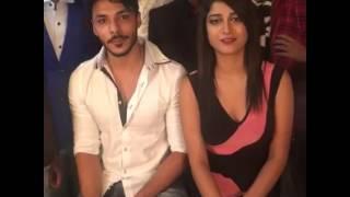 exclusive interview of mtv splitsvilla 9 martina her boyfriend suraj and isha at celebrity face