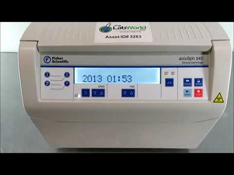 Fisher AccuSpin 24C Clinical Centrifuge
