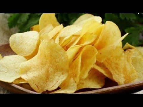 ضاع عمرنا واحنا بنعمل البطاطس الشيبسي لعيال غلط اقسم بالله الطريقه دي زي الاكياس واحلي