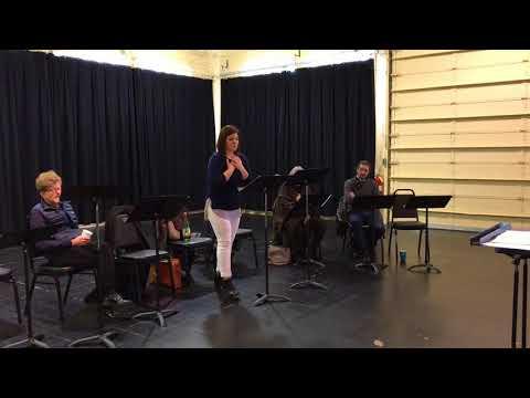 Florentine Opera: Rena Harms Rehearses For Viva Opera