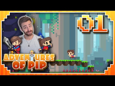 "Adventures of Pip [Wii U/PC] on Shady Gaming Part 01 ""Pip Is Mario? MegaMan? Link? WHO ARE YOU!?"