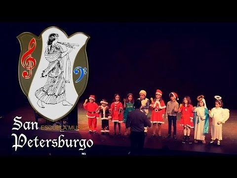 Peque Coro | We Wish you a Merry Chritsmas | Escuela Musical San Petersburgo