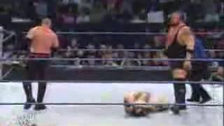 WWE Batista Saves Rey Mysterio From Kane And Big Show!!!!