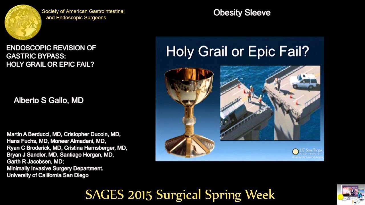 Endoscopic Revision of Gastric Bypass Holy Grail Or Epic